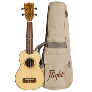 Flight DUS320 SP/ZEB Soprano Ukulele